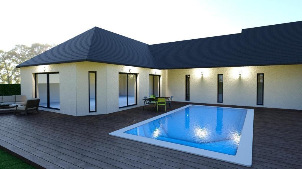Maison moderne 4 chambres imoter for Maison contemporaine italienne