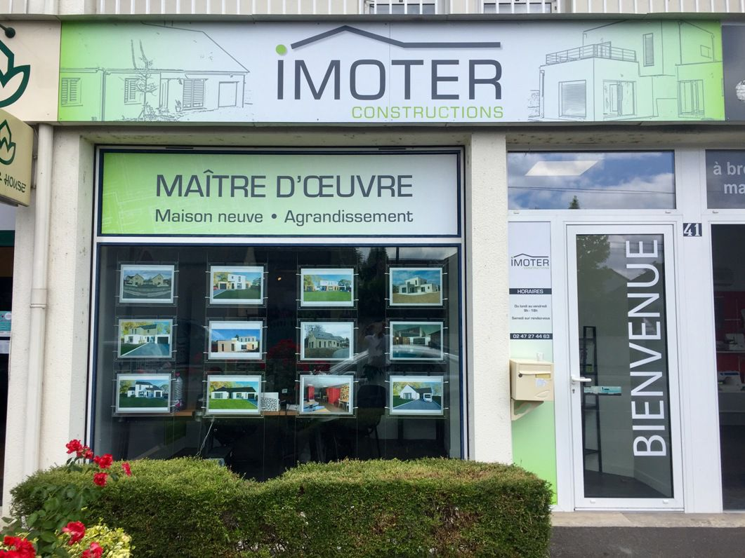 Agence Imoter construction Joué-lès-Tours