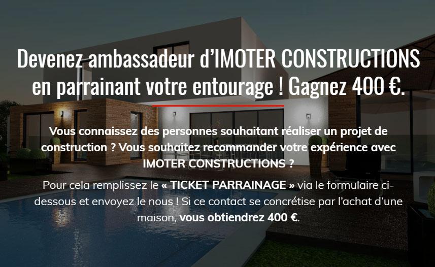 Parrainage Imoter Constructions